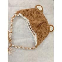 Liquido Gorro Con Orejas Oso Tejido Al Crochet