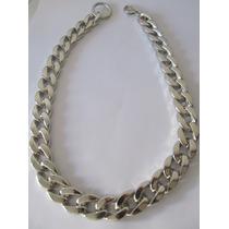 Collar Cadena Gruesa Resina Super Livianos! Dorado Plateado