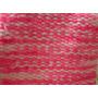 Bufanda Artesanal Para Nena Tejida En Telar Fuxia Rosa