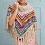 Poncho Al Crochet - Reynas Tejidos Artesanales