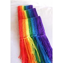 Bufanda Tejida A Crochet