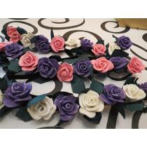 Vinchas De Flores Para Princesas.