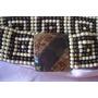 Cinturon Elastizado De Perlas Tonos Tierra Diseño Artesanal