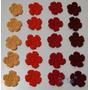 Pack De 20 Flores Tejidas Al Crochet