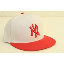 Gorra Visera Plana Snapback Ny Yankees 2015 Unica Spf 349