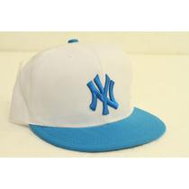 Gorra Visera Plana Snapback Ny Yankees 2015 Unica Spf 345