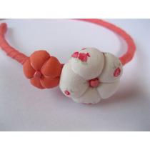 Vinchas Forradas Para Nenas Con Apliques/hebillas/accesorios