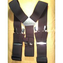 Tirador Para Pantalón Doble Pinza Madison Marròn Oscuro 5cm