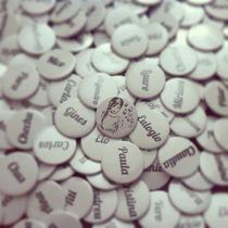 100 Pins Personalizados Para Casamiento