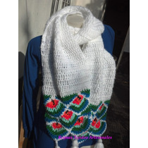 Bufandas A Crochet - Reynas Tejidos Artesanales