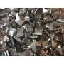 Tacha Piramidal 20mm Hierro X500 Unid, Níquel O Bronce Viejo