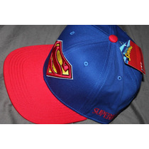 Gorra Superman Original Flat Baseball / Bajo Pedido_exkarg