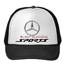 Korando M.benz, Logo Original, Gorra Combinada Por Re-start!