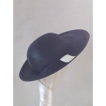 Sombrero Con Ala De Costado Muy Femenino, Verano 2014, Nuevo