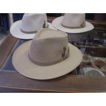Sombrero Australiano Lagomarsino Algodón Y Rafia