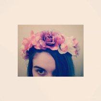 Vincha Corona De Flores Elastico Estilo Frida Kahlo Moda