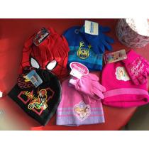 Gorro/guantes Disney Niños