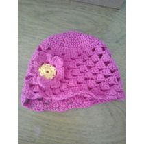 Gorro De Bebé A Crochet