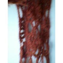 Bufandas Al Crochet. Precio Unitario.