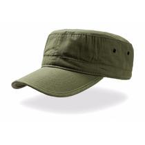 Gorra Tipo Militar Verde Militar