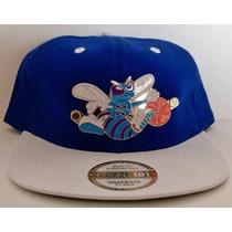 Gorra Visera Plana Snapback New Era Nba Charlotte Hornets
