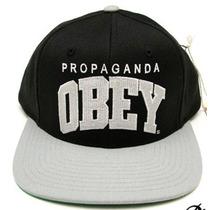 Gorra Plana Obey Snapback 100% Originales Nuevas
