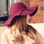 Capellinas Sombreros Mujer Paño