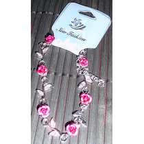 Pulsera Rosas Flores Divina Amor Love Enamorado San Valentin