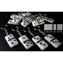 Llaveros Domino En Vitrofusion!!