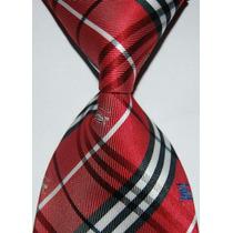 Corbatas Escocesas Grandes Marcas Seda Jacquard, #~#1739