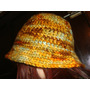 Gorro Vintage Tejido Al Crochet Divino