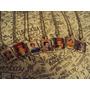 Cadenitas Con Dije De Frida Kahlo Varios Motivos