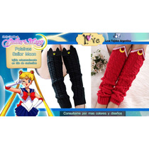 Tejidos A Crochet - Sailor Moon - Polainas