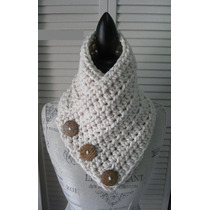 Cuellos Tejidos A Crochet - Reynas Tejidos Artesanales