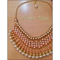 Collar De Perlas Para Fiesta