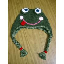 Gorrito Sapo Pepe Crochet