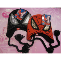 Gorro De Lana Spider-man Y Batman
