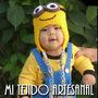 Gorro De Los Minions Tejidos Al Crochet Todos Los Talles