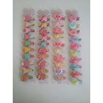 Set De Hebillas Pinza Para Nenas Varios Diseños 10