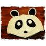 Gorro Oso Panda Tejido Crochet