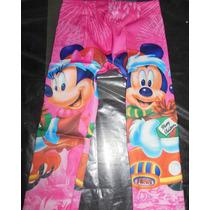 Calzas Infantiles - Princesas & Minnie