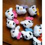 Llaveros De Kitty - Tejidos A Crochet- Souvenir- Amigurumis