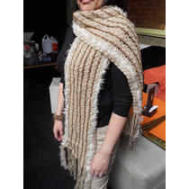 Bufanda Realizada Al Crochet