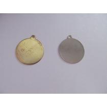 25 Bases De Chapa Medalla Para Pegar Etiqueta Domes