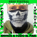 Pañuelo Bandana,calavera,skull,paintball,motoquero,envios