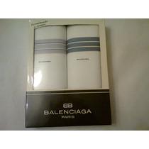 Caja Con 2 Pañuelos Balenciaga A Estrenar!