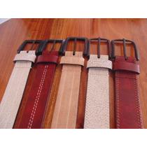 Lote Cinturones De Hombre Cuero Reconstituido