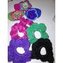 Colitas Accesorio Para Pelo Tejido Crochet