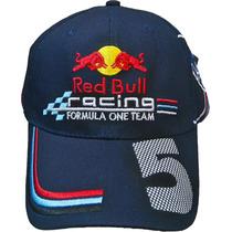 Gorra Red Bull Sebastian Vettel 5 Stock Permanente