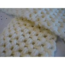 Bufanda Tejida Al Crochet